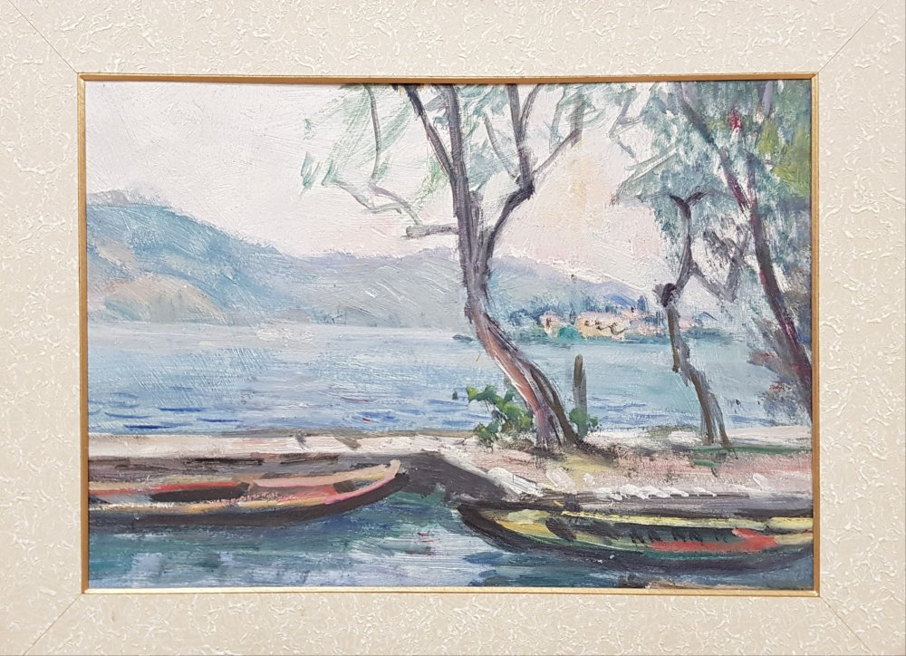 angelo fiessi: Lago d'Iseo