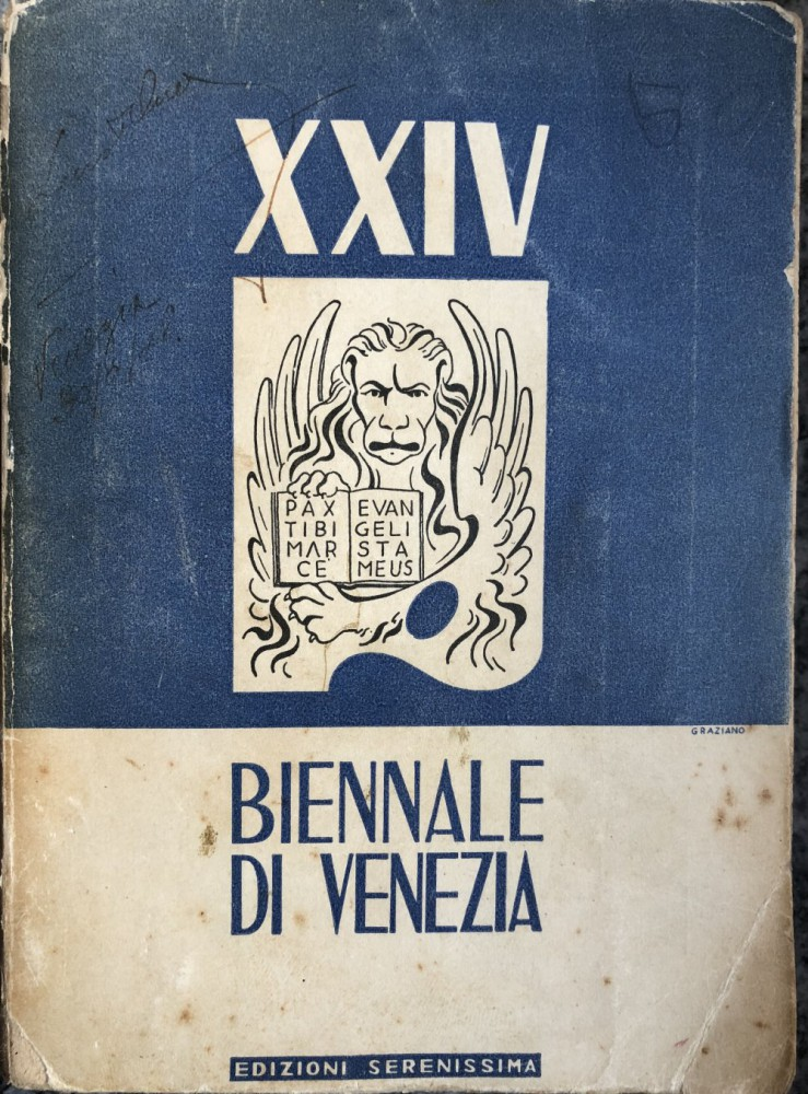 Catalogo Biennale di Venezia 1948